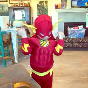 Haloween or everyday as my son did flash costume.